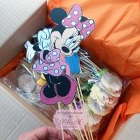 Mesaje/props-uri candy bar cu Minnie Mouse si prietenii
