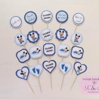 Mesaje/propsuri candy bar Mickey Mouse bleu